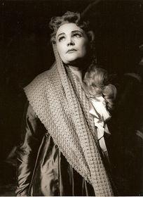 Ludmila Dvořáková, foto: archivo del Teatro Nacional Eslovaco