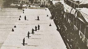 """Eisstadion """"Štvanice"""" in 1931 (Quelle: Tschechisches Eishockey 1909-2003)"""