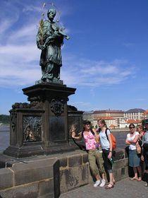 El lugar donde tiraron el cuerpo de San Juan Nepomuceno, foto: © City of Prague