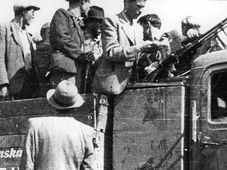 Mobilisierung 1938 (Foto: Archiv des Tschechischen Rundfunks)