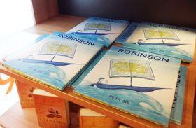 Книга «Робинзон» Петра Сиса, фото: Юлия Маслова