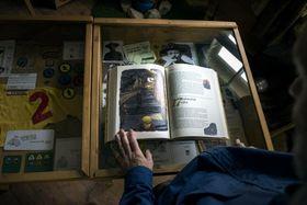 A book written by Jaroslav Foglar, photo: Michaela Danelová, Czech Radio