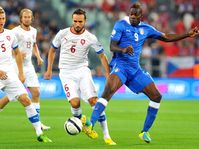 Italy - Czech Republic, photo: CTK