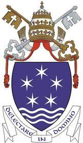 Znak Papežské koleje Nepomucenum