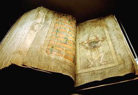 Codex Gigas, photo: Kungl. biblioteket, CC BY