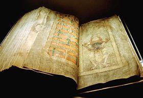 Codex Gigas – «Дьявольская Библия», фото: Архив Национальной библиотеки Швеции, CC BY