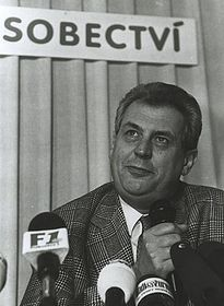 Primer Ministro Milos Zeman