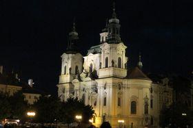 L'Eglise Saint-Nicolas sur la place de la Vieille-Ville à Prague, photo : Kristýna Maková, ČRo - Radio Prague