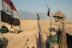 Battle of Mosul, photo: Christopher Brecht, U.S. Army, Public Domain