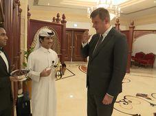 Tomáš Petříček in Katar (Foto: Tschechisches Fernsehen)