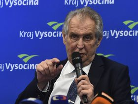 Miloš Zeman, photo : ČTK / Luboš Pavlíček