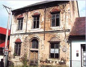 Synagoge Hartmanice vor der Renovierung (Foto: Offizielle Web-Seite von Hartmanice)