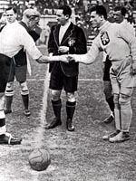 Франтишек Планичка (справа), Рим 1934г, FIFA World Cup, Фото: Архив Чешского радио