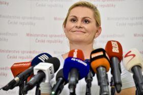 Taťána Malá, photo: Vít Šimánek/ČTK