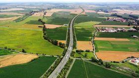 Visualisierung des Ausbaus der D11 (Foto: Archiv ŘSD)