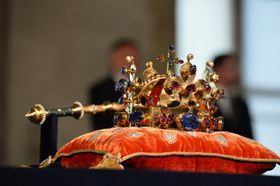 Czech crown jewels, photo: CTK