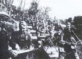 Moviento partisano, 1944