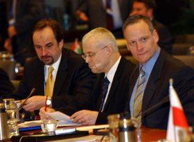 Vladimír Spidla, Cyril Svoboda, foto: CTK