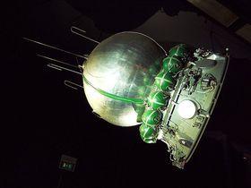 Макет корабля «Восток-1» в парижском музее авиации и космонавтики, Фото: Pline, CC BY-SA 3.0