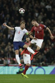 Harry Kane et Tomáš Kalas, photo: ČTK/AP/Matt Dunham