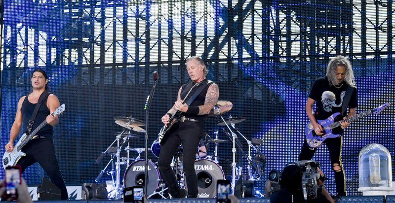 Metallica, photo: ČTK/Šimánek Vít