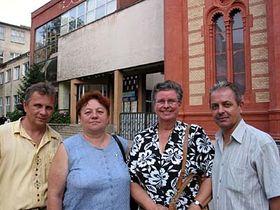 Profesorka Irina Hojdašová (druhá zprava), foto: Autorka