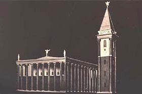 Une de variantes de l'église