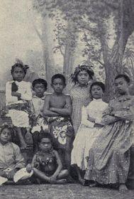 Таитские дети