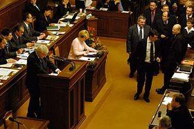 Hlasování Poslanecké sněmovny, foto: ČTK