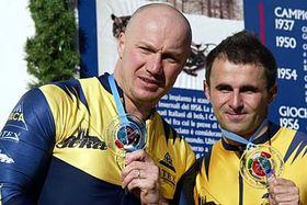 Ivo Danilevic (a la izquierda) y Roman Gomola (Foto: CTK)