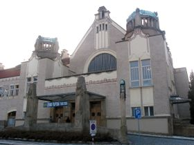 The house of culture in Prostejov