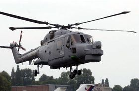 El helicóptero británico Lynx, foto: CTK