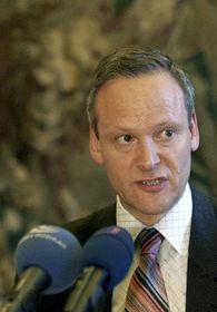 El ministro de RR.EE. checo, Cyril Svoboda, foto: CTK