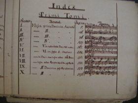 El manuscrito de la 'Misa checa de Navidad' de Jakub Jan Ryba, foto: Martina Schneibergová