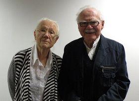 Rut Kohn und ihr Ehemann Pavel Kohn (Foto: Lenka Žižková, Archiv Radio Prag)