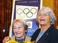 Dana Zatopkova et Olga Fikotova-Connoly, photo: CTK