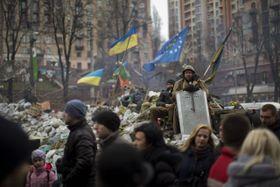 Kiev, Ucrania, foto: ČTK
