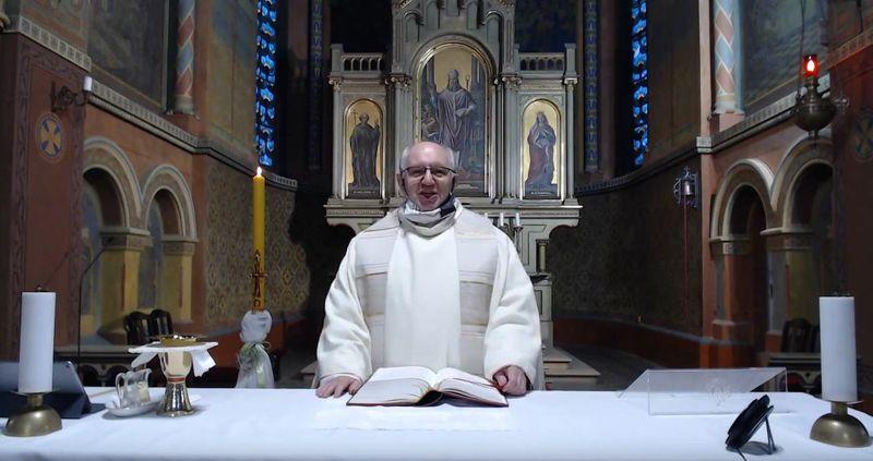 Священник Станислав Гура, фото: YouTube kanál farnosti Čakovice