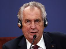 Miloš Zeman (Foto: ČTK / AP Photo / Darko Vojinovic)