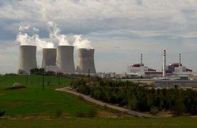 Jaderná elektrárna Temelín, foto: ČTK