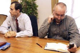 Иван Пилип (налево) и Петр Мареш (Фото: ЧТК)