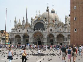 La Plaza de San Marcos en Venecia, foto: Andreas Volkmer, Free Domain