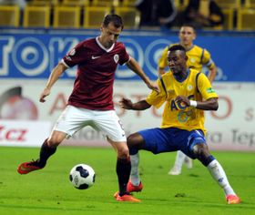 Teplice - Sparta Prague, photo: CTK