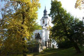 Kostel vCítolibech, kde jedinečná hudba vznikala abyla zde po letech iobjevena, foto: David Hertl / Český rozhlas
