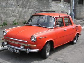 Škoda 1000 MB, illustrative photo:  Ludek, CC BY-SA 3.0 Unported