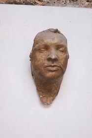 Jan Palach's death mask, photo: Hana Novenková