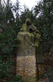 Статуя Фердинанда Лауба в Праге под Петршином, фото: AVIosad CC BY-SA 3.0