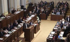 Zdeněk Ondráček vPoslanecké sněmovně, foto: ČTK