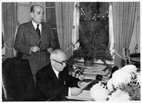 Ян Масарик и Эдвард Бенеш, фото: Архив Национального музея в Праге