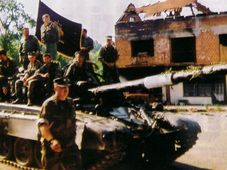 Хорватский генерал Марекович перед встречей с мусульманскими силами в Тржачка-Раштеле, фото: Добросовестное использование